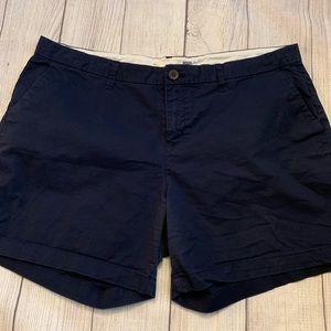 Size 14 Old Navy Navy Blue Khaki Shorts